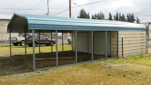 5 Open Storage Units